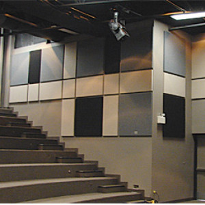 Vary Acoustic Panels Size, Colour for Visual Interest