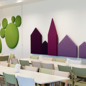Decorative Acoustic Wall Panels decorative acoustic panels from wobedo design of sweden