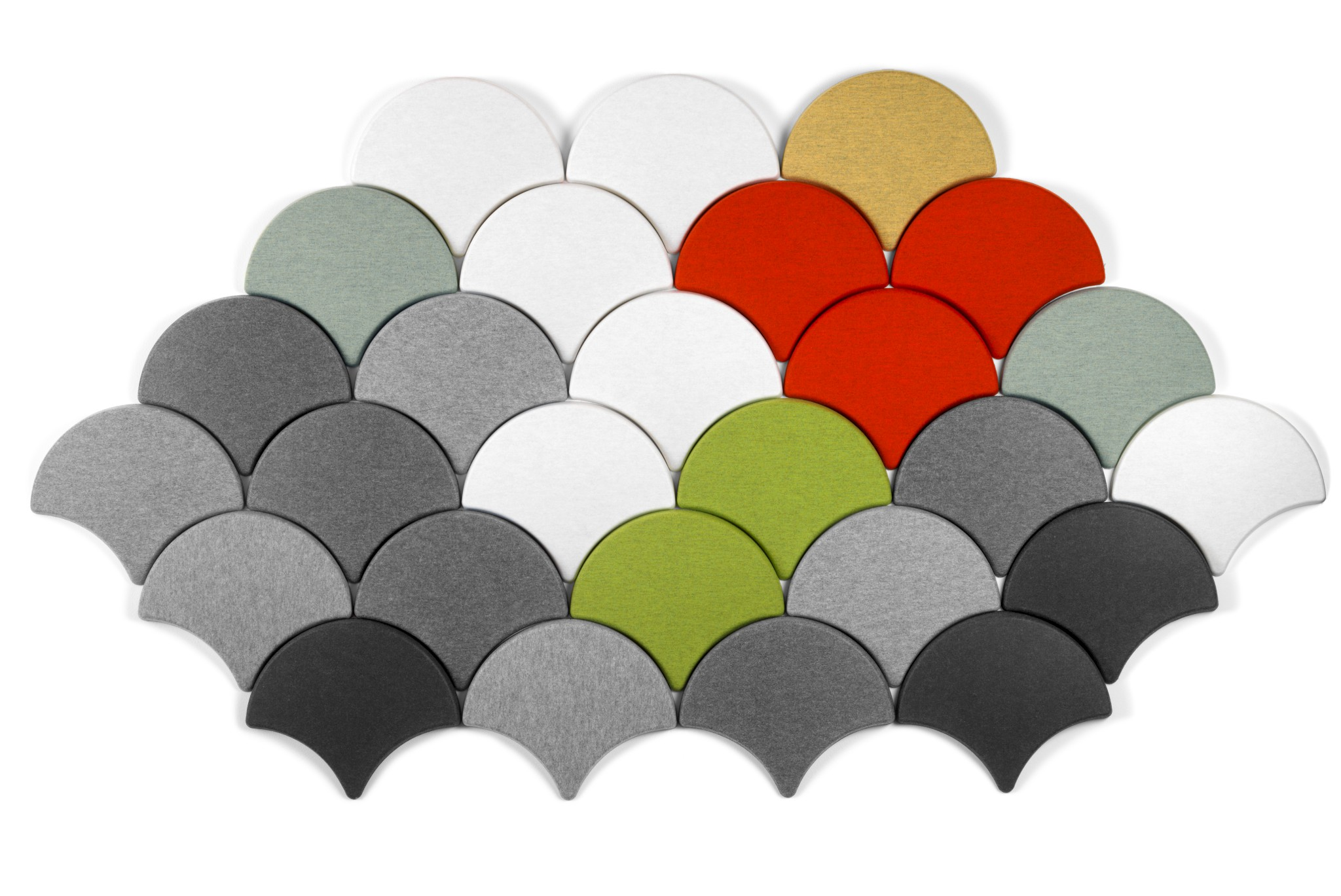 Decorative Acoustic Tiles Ginkgo Decorative Acoustic Tiles From Blå Station  Acoustics With .