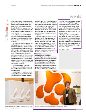 Office Insight article IIDEX and Acoustics With Design