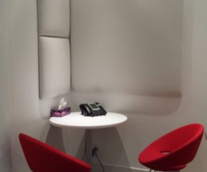 Wobedo Squarebubble Acoustics Panel in Small Conference room