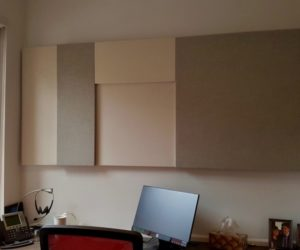 Conventional Acoustic Panels configuration