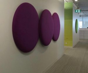 Decorative Acoustics Round Panels Corporate