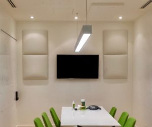 Meeting Room Acoustics White