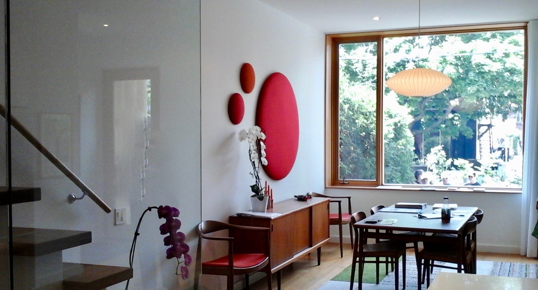 Acoustic Panels Complement Modern Home Design