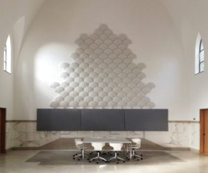 Ginkgo Acoustic Tiles Light Grey